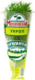 Характеристрики и размер товара Зелень свежая Агрохолдинг Московский Премиум укроп в горшке