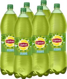 Характеристрики и размер товара Lipton Ice Tea Зеленый холодный чай, 6 штук по 1,5 л
