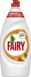Характеристрики и размер товара FAIRY Средство для мытья посуды Апельсин и лимонник 900мл
