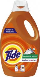 Характеристрики и размер товара Порошок Тайд жидкий 1,235л Альпийская свежесть, 00114592