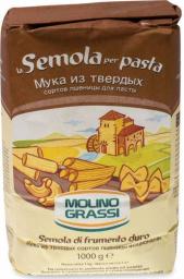 Характеристрики и размер товара Molino Grassi мука пшеничная из твердых сортов пшеницы, 1 кг