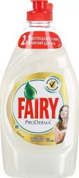 Характеристрики и размер товара FAIRY ProDerma Средство для мытья посуды Алоэ Вера и Кокос 450мл