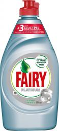 Характеристрики и размер товара FAIRY Platinum Средство для мытья посуды Ледяная свежесть 430мл