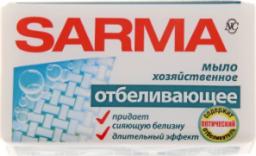 Характеристрики и размер товара НК Мыло хоз Сарма 140гр Отбеливающее /48 шт