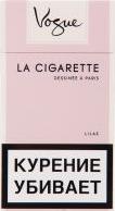 Характеристрики и размер товара Сигареты Vogue Super Slims Lilac с фильтром