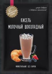 Характеристрики и размер товара Пудовъ кисель молочный шоколадный, 40 г
