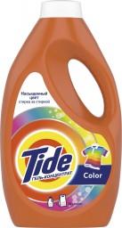 Характеристрики и размер товара TIDE СМС жидкость Color 1.235л