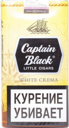 Характеристрики и размер товара Сигариллы Captain Black White Crema 20шт