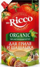 Характеристрики и размер товара Кетчуп Mr.Ricco Organic для гриля и шашлыка д/п, 350 г