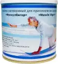 Характеристрики и размер товара МускулВигор Напиток растворимый для приготовления коктейлей, 350 г