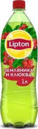 Характеристрики и размер товара Lipton Ice Tea Земляника-Клюква холодный чай, 1 л
