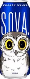 Характеристрики и размер товара S.O.V.A. Original энергетический напиток, 0,5 л