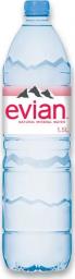Характеристрики и размер товара Вода минеральная Evian Natural Mineral негазированная, 1.5 л